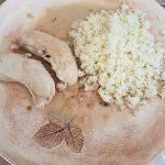 Blancs de poulets à la sauce moutarde et à l'estragon 2 notrebonnefranquette