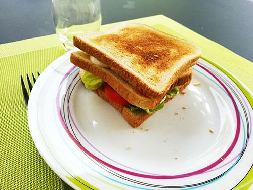 Club sandwichs au bacon croustillant notrebonnefranquette