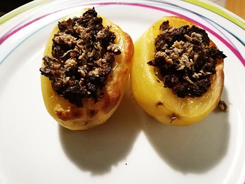 Pommes de terre farcies