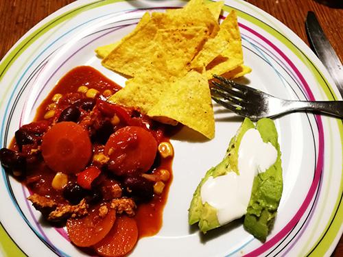 chili sans viande notrebonnefranquette