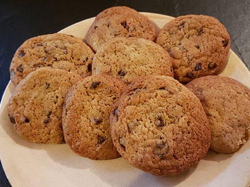 cookies aux pépites de chocolat anaïs notrebonnefranquette