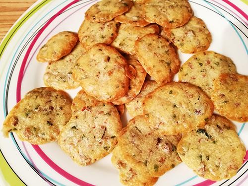 crackers au basilic notrebonnefranquette