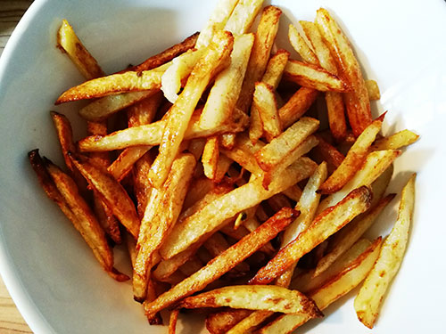 frites au four maison notrebonnefranquette