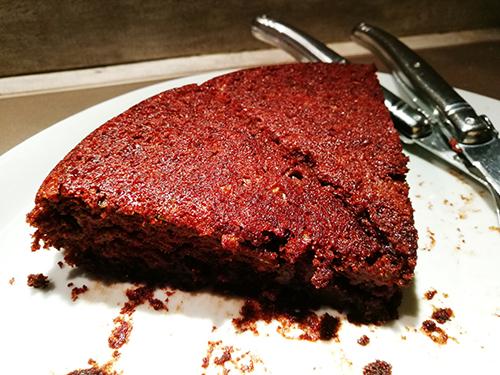 gâteau au chocolat et à la courgette notrebonnefranquette