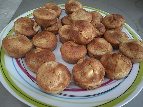 Muffins à la poire