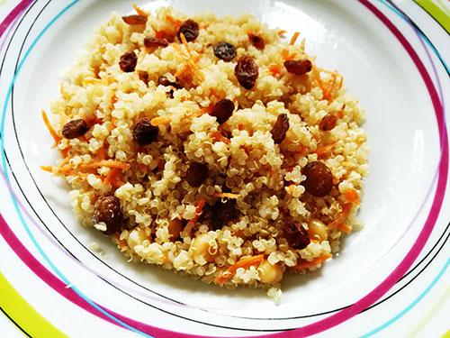 salade de quinoa et pois chiches notrebonnefranquette
