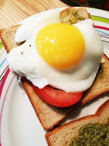 Sandwich au pesto notrebonnefranquette