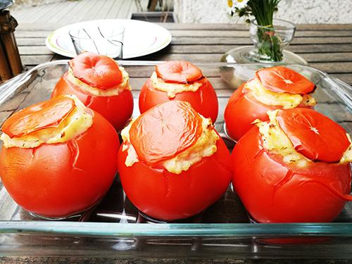 tomates farcies à la pomme de terre notrebonnefranquette